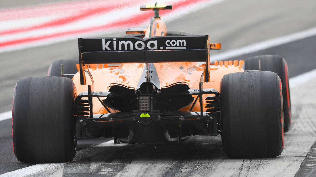 Stoffel Vandoorne - McLaren - Formel 1 - GP Bahrain - Training - 6. April 2018