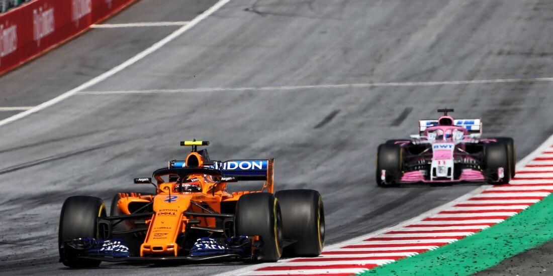 Stoffel Vandoorne - McLaren - Formel 1 - GP Österreich - 1. Juli 2018