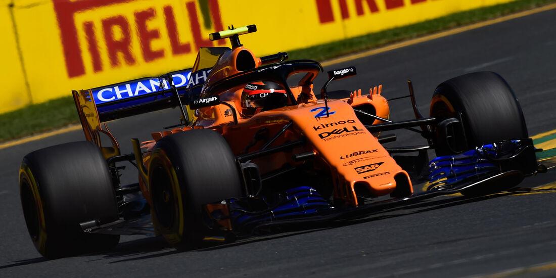 Stoffel Vandoorne - McLaren - GP Australien 2018 - Melbourne - Albert Park - Freitag - 23.3.2018