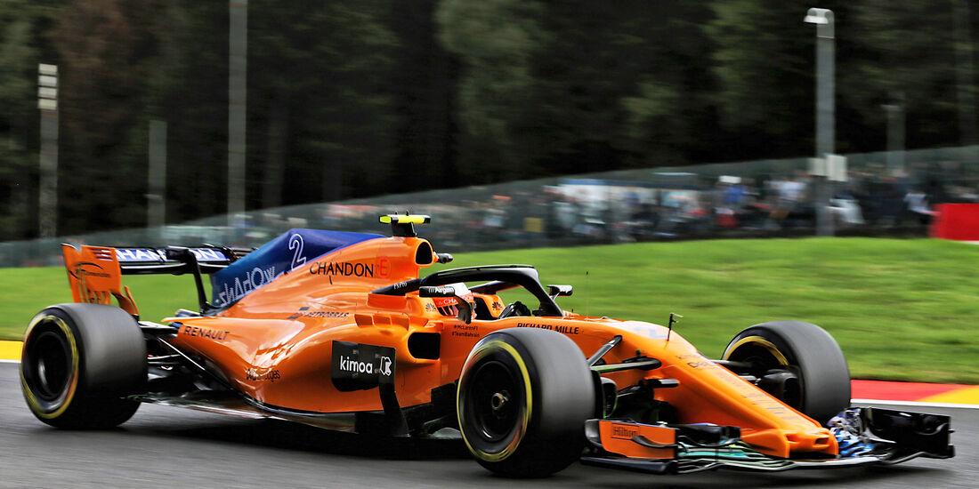 Stoffel Vandoorne - McLaren - GP Belgien - Spa-Francorchamps - 24. August 2018