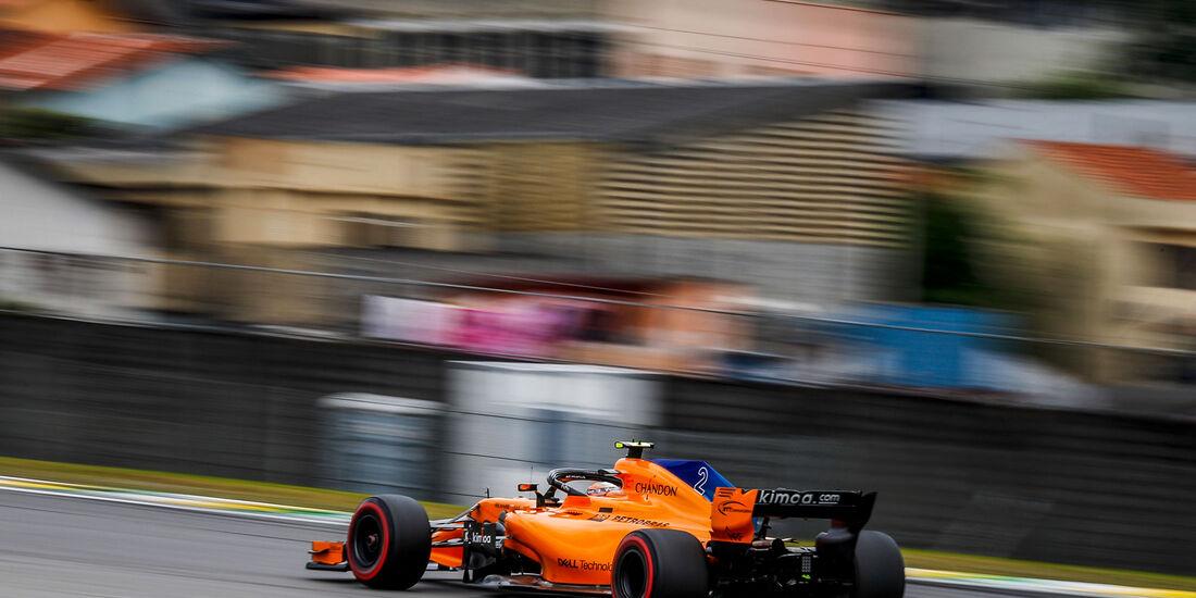 Stoffel Vandoorne - McLaren - GP Brasilien - Interlagos - Formel 1 - Samstag - 10.11.2018