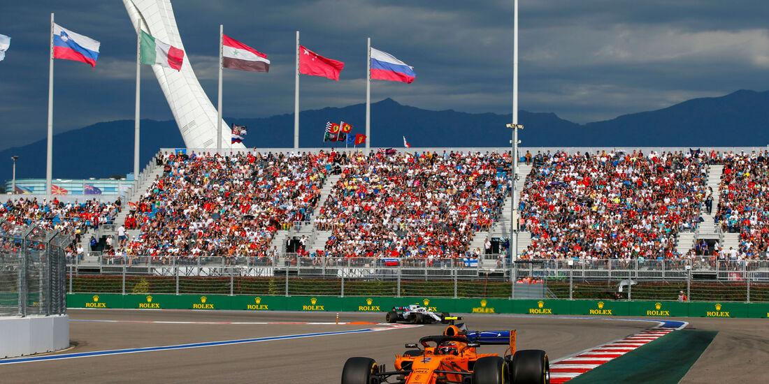 Stoffel Vandoorne - McLaren - GP Russland 2018
