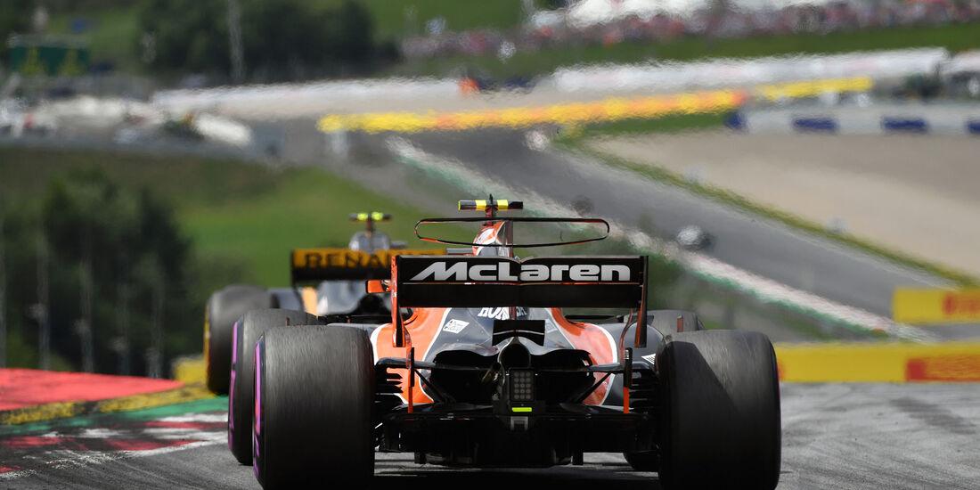 Stoffel Vandoorne - McLaren-Honda - GP Österreich 2017 - Spielberg - Rennen