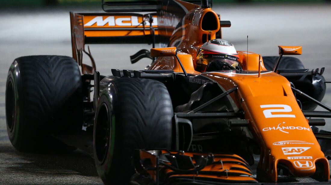 Stoffel Vandoorne - McLaren-Honda - GP Singapur 2017 - Rennen