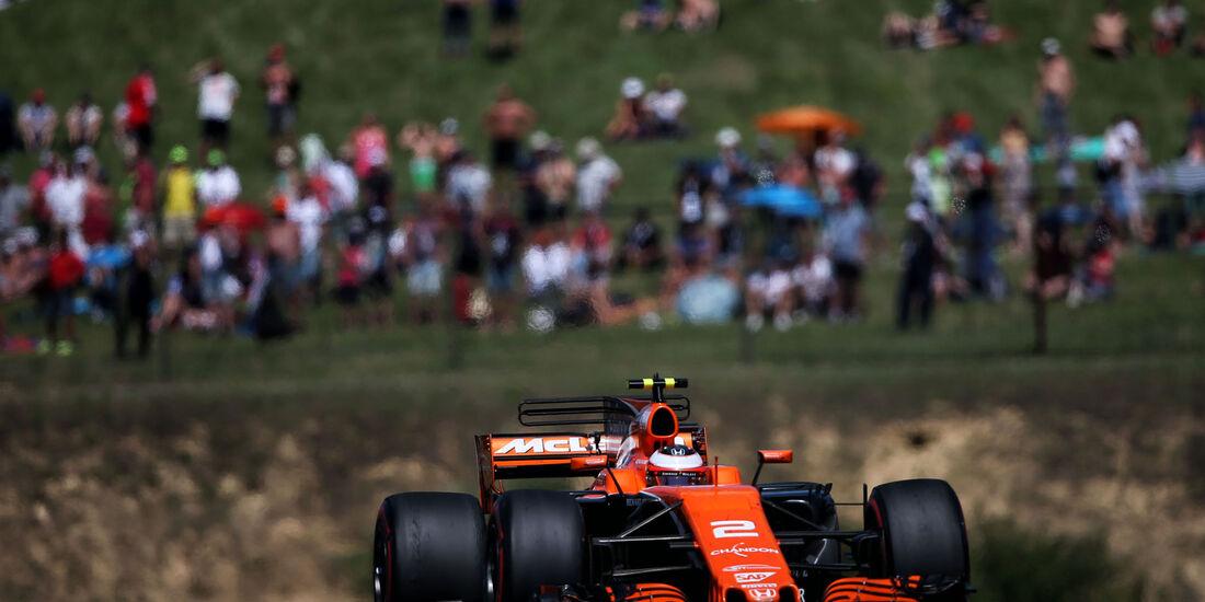 Stoffel Vandoorne - McLaren-Honda - GP Ungarn 2017 - Budapest - Rennen