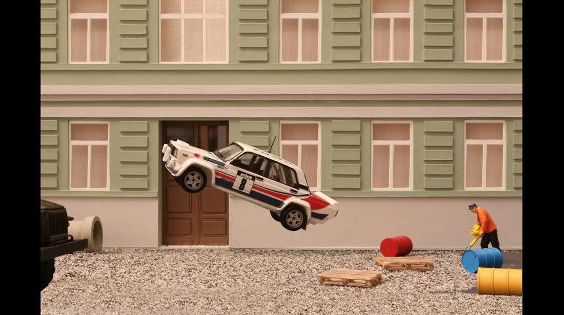 Stop-Motion, Animationsfilm, Ost-Klassiker, Skoda 130 RS, Lada VFTS, Modellautos