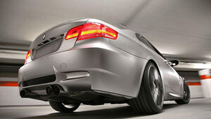 Stoptech BMW M3, Tuning, Heck
