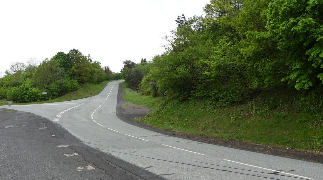 Strecke Clermont-Ferrand