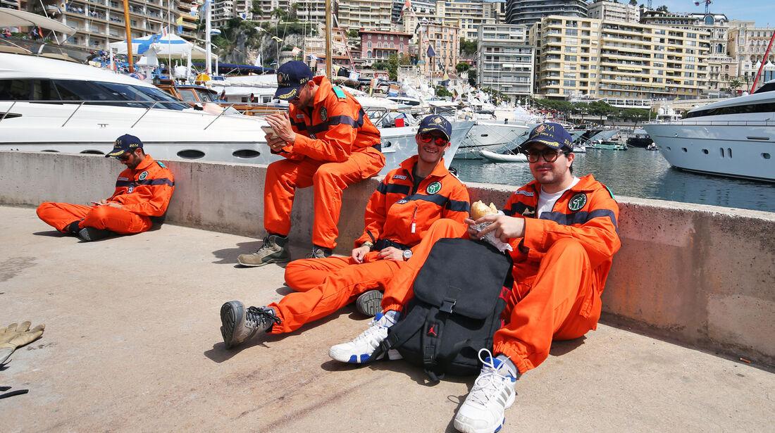 Streckenposten - Formel 1 - GP Monaco - 26. Mai 2016