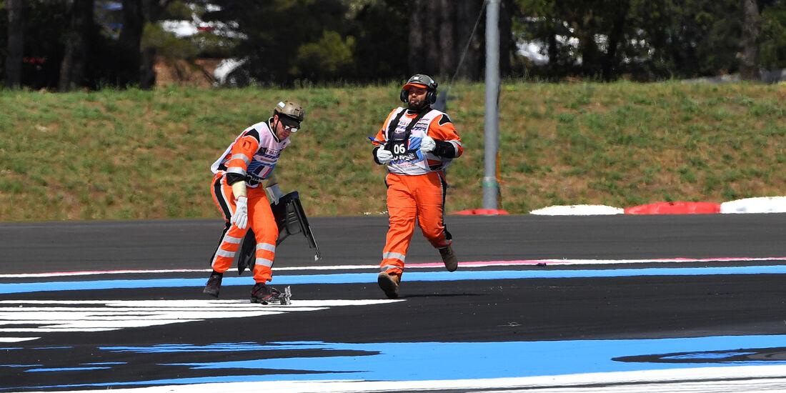 Streckenposten - GP Frankreich 2018