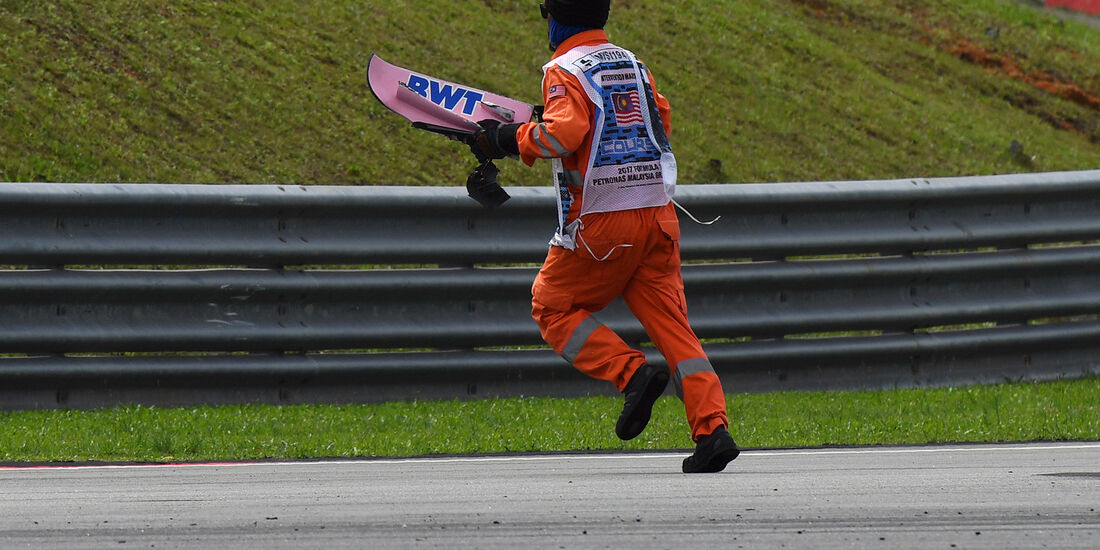 Streckenposten - GP Malaysia 2017