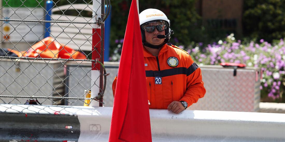 Streckenposten - GP Monaco - Formel 1 - 28. Mai 2016