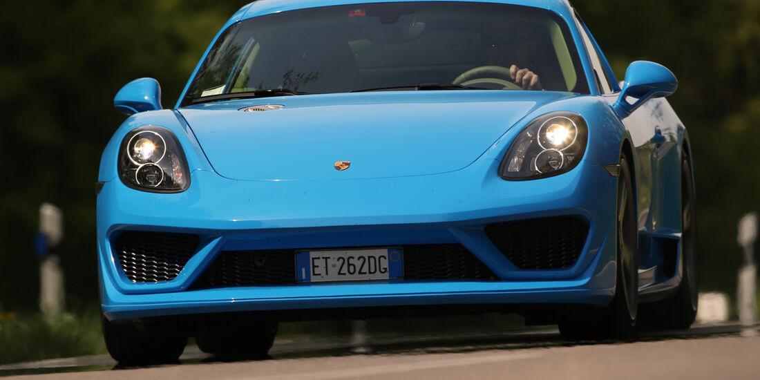 Studiotorino-Porsche Moncenisio, Frontansicht