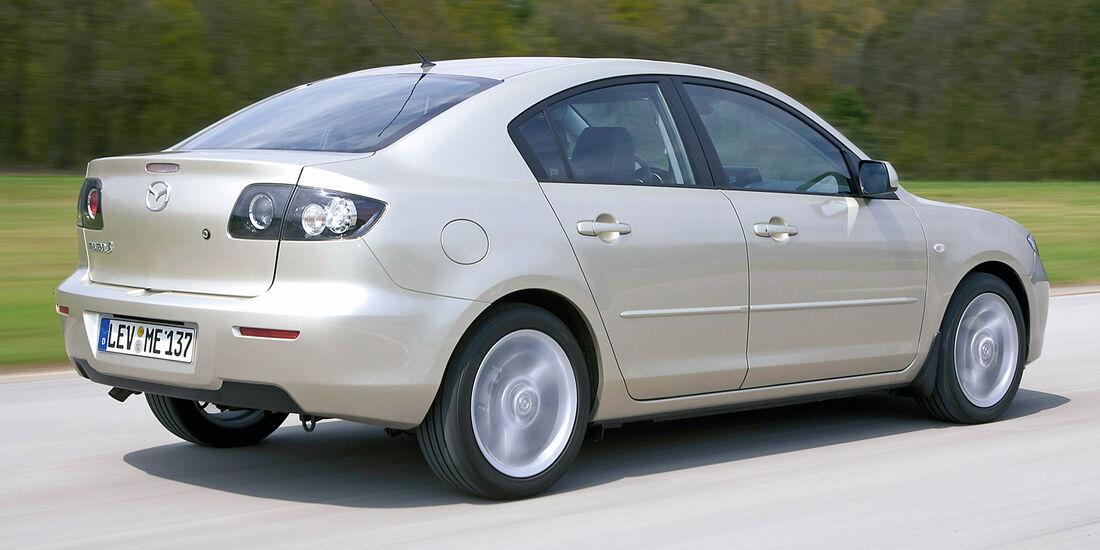 Stufenheck-Limousinen, Mazda 3 1.6 Acitve