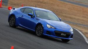 Subaru BRZ, Frontansicht, Driften