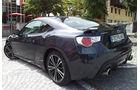 Subaru BRZ, Heckansicht