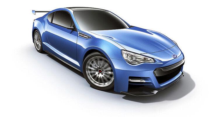 Subaru BRZ STi Concept