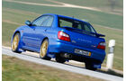 Subaru Impreza, Heckansicht