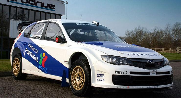 Subaru Impreza WRC 2008, Marcus Grönholm, Portugal 2009