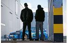 Subaru Impreza WRX Sti, Seitenansicht