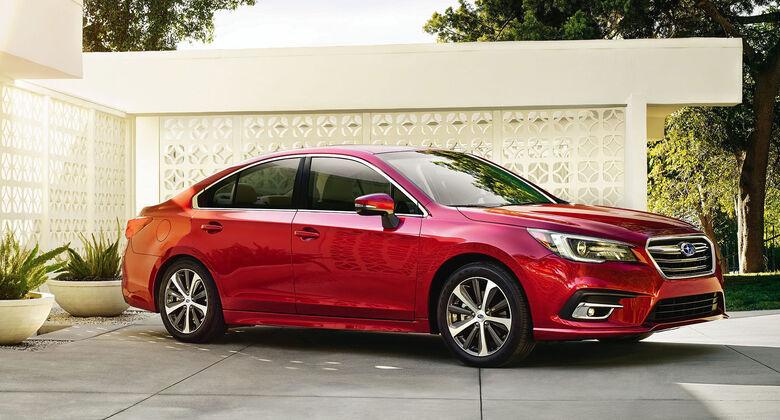 Subaru Legacy Facelift 2017
