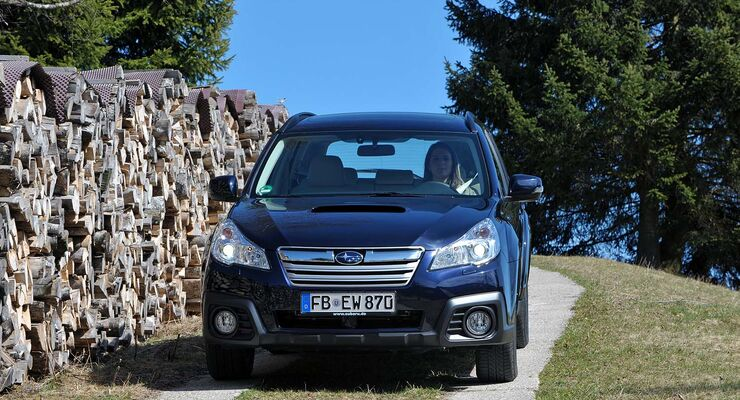 Subaru Legacy Outback Diesel Lineartronic 2013