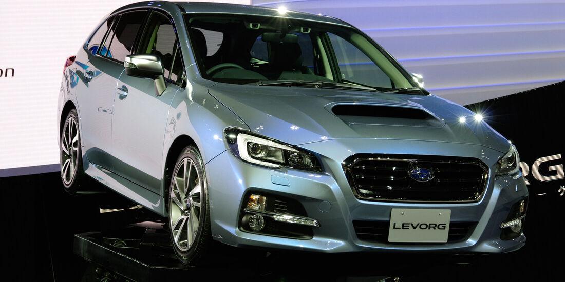 Subaru Levorg front Tokio Motor Show