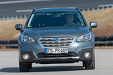 Subaru Outback, Frontansicht