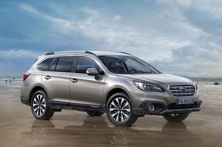 Subaru Outback Modellpflege 2016