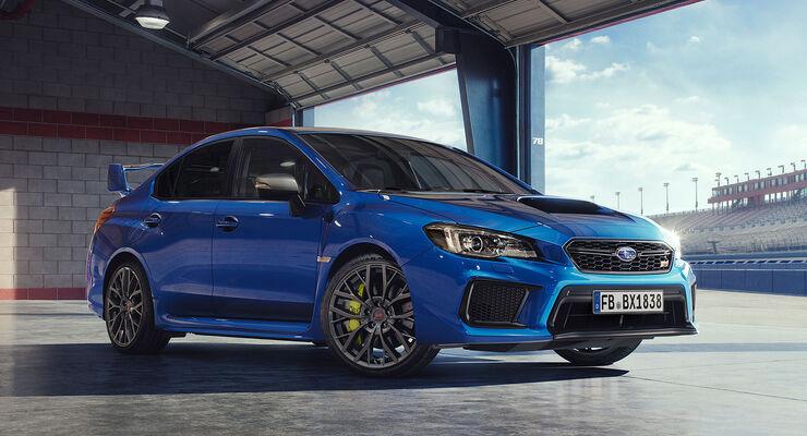 Subaru WRX STI Modelljahr 2018: Daten, Infos, Marktstart ...