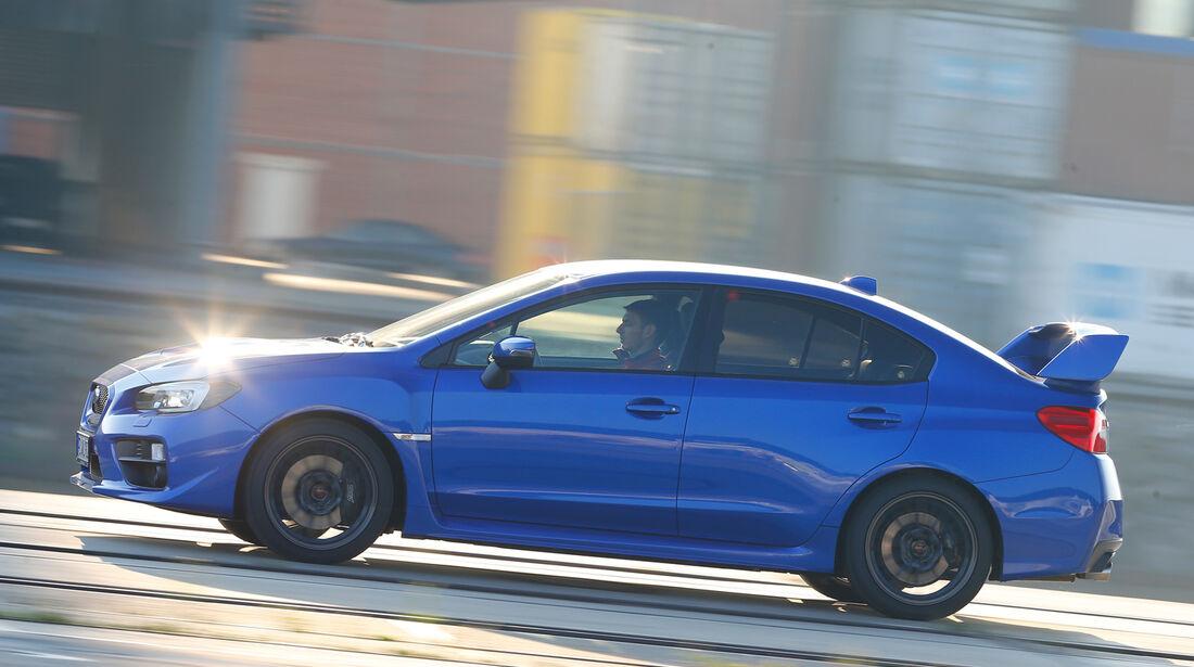 Subaru WRX STI, Seitenansicht