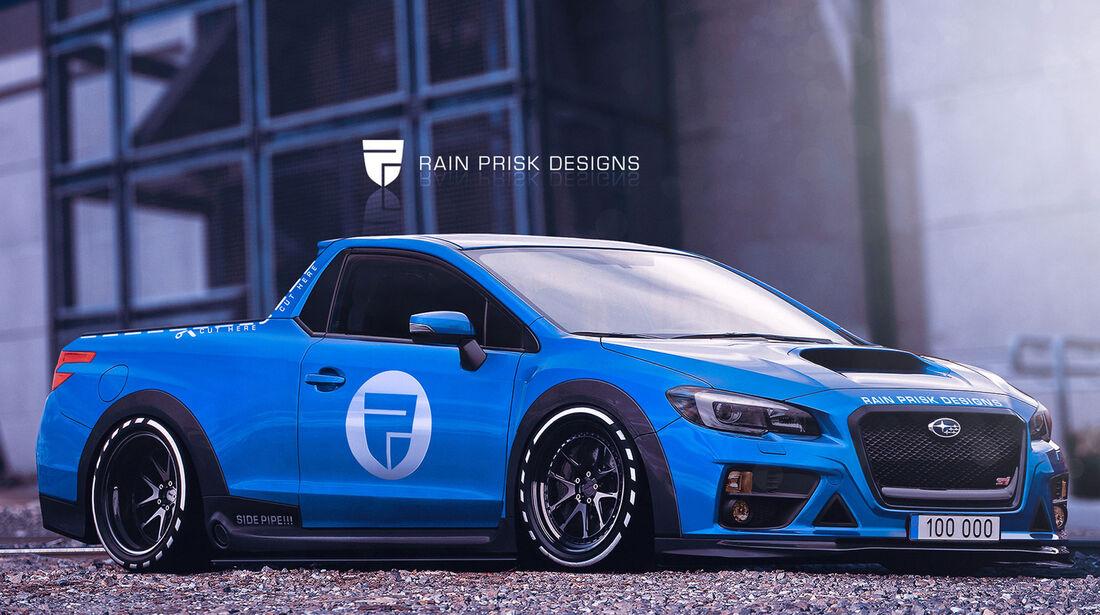 Subaru WRX STI Ute - Fantasie-Auto