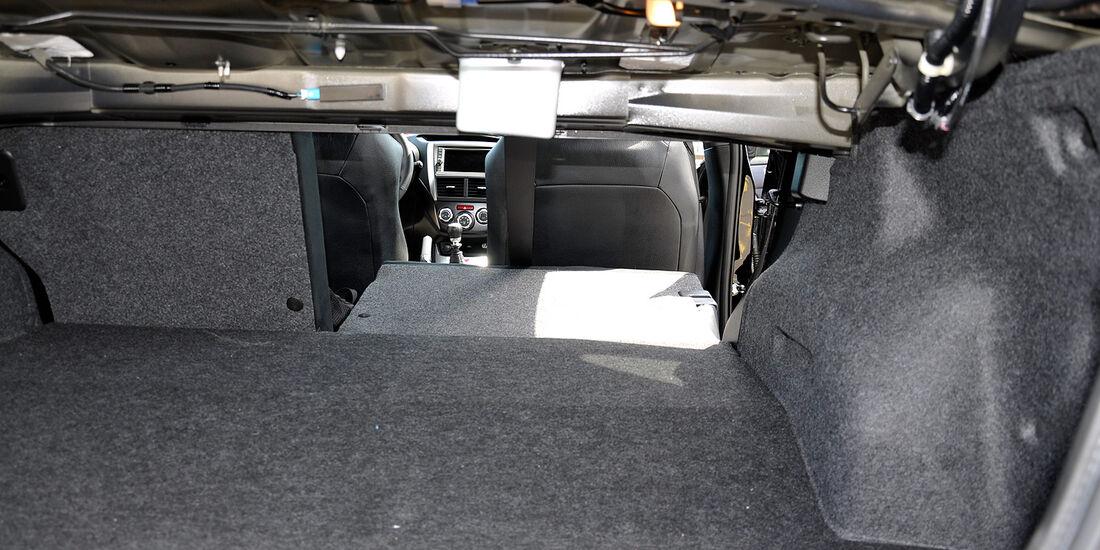 Subaru WRX STi, Fond, Rückbank
