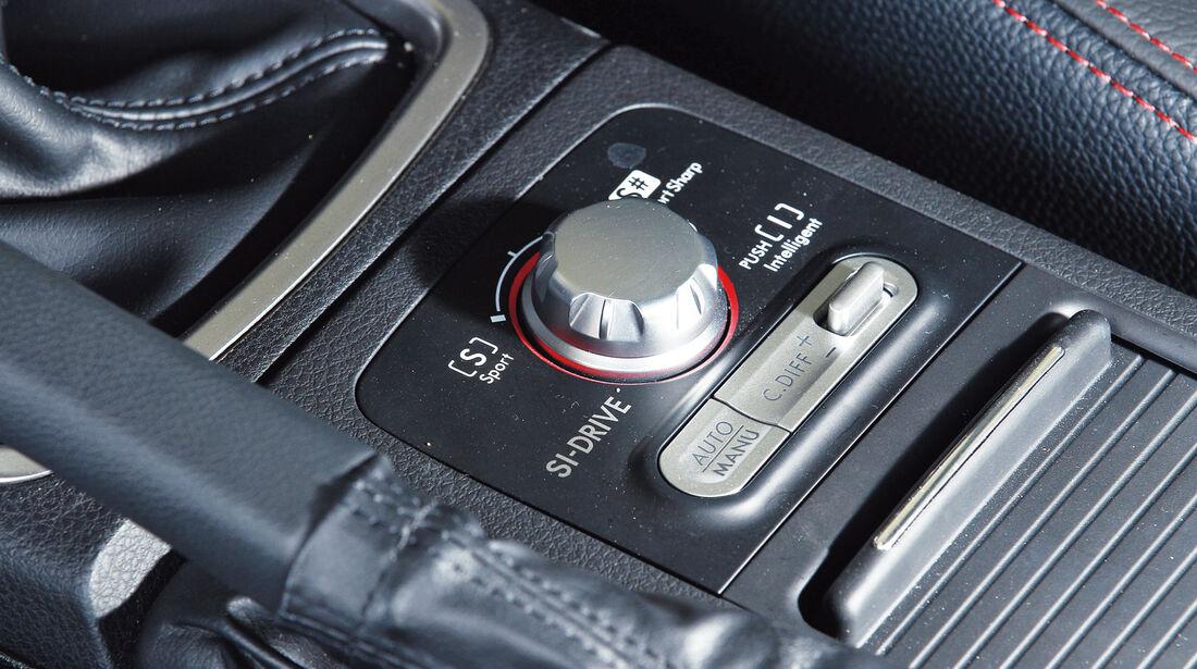 Subaru WRX Sti, Bedienelemente