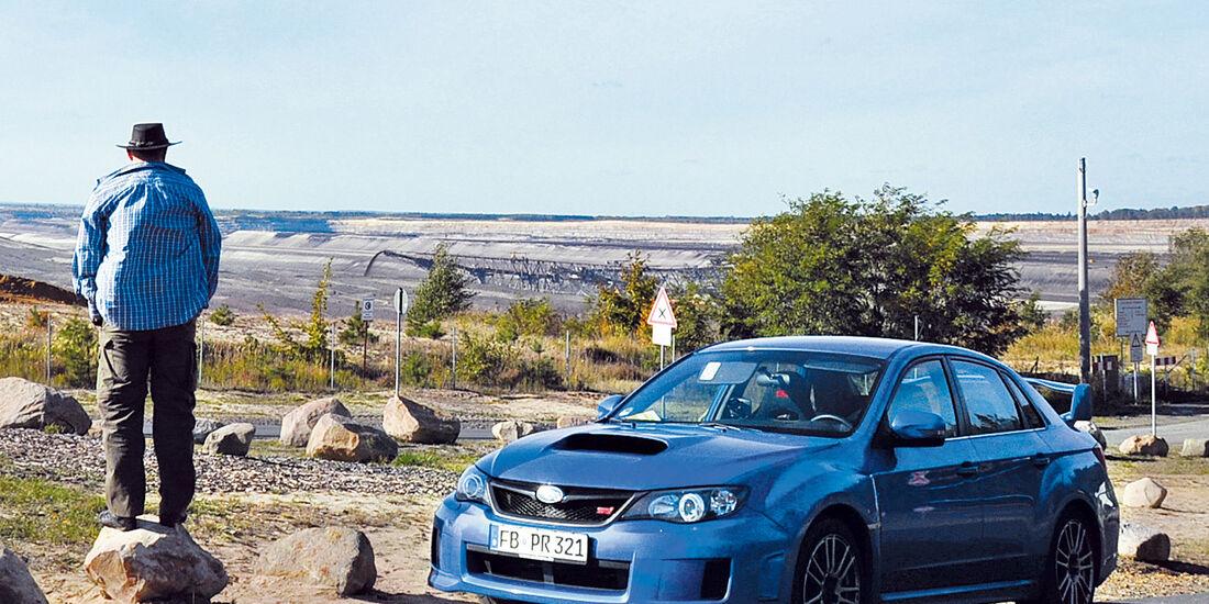 Subaru WRX Sti, Lausitz, Seitenansicht