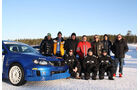 Subaru Wintertrainig Finnland