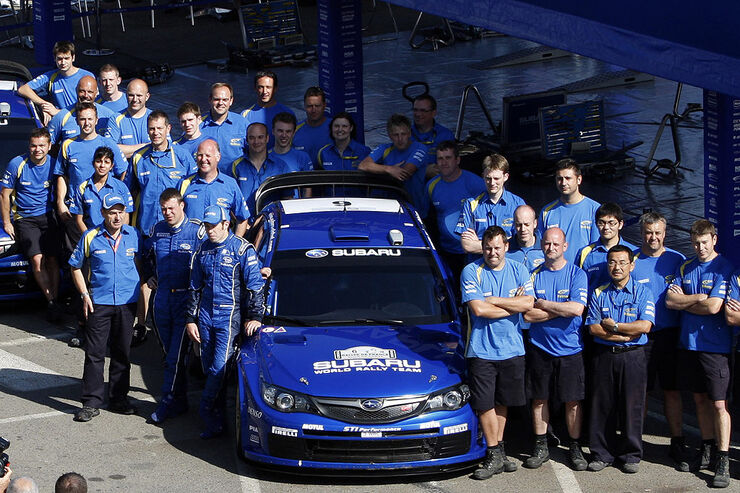 Subaru World Rally Team 2008