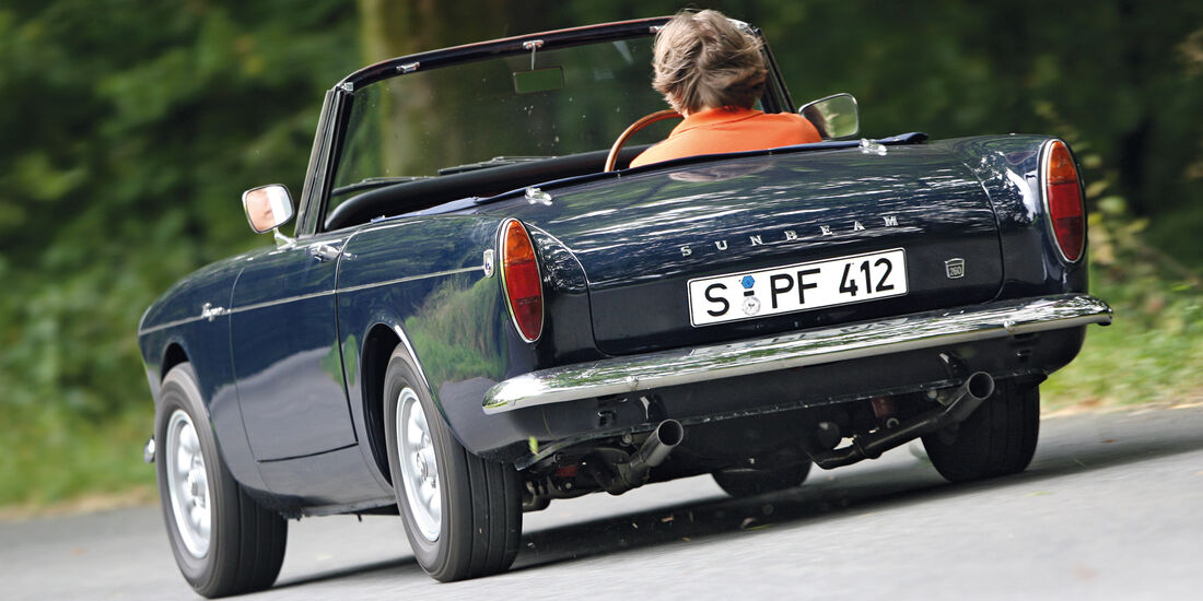 Sunbeam Tiger, Heckansicht