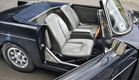 Sunbeam Tiger, Sitze, Interieur