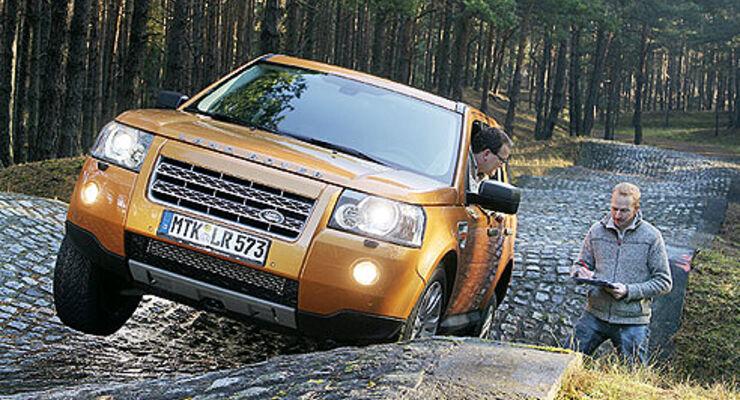 Supertest Land Rover Freelander Td4