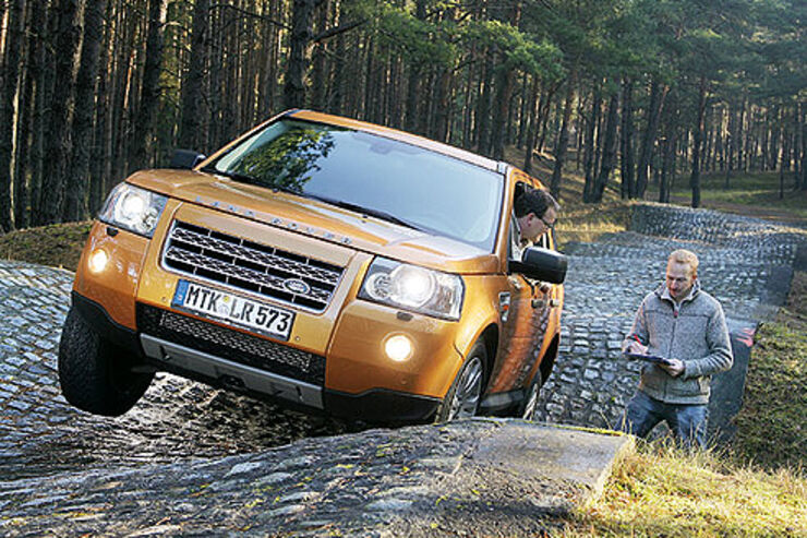der land rover freelander td4 im supertest auto motor. Black Bedroom Furniture Sets. Home Design Ideas