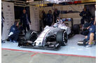 Susie Wolff - Williams - Formel 1-Test - Barcelona - 19. Februar 2015