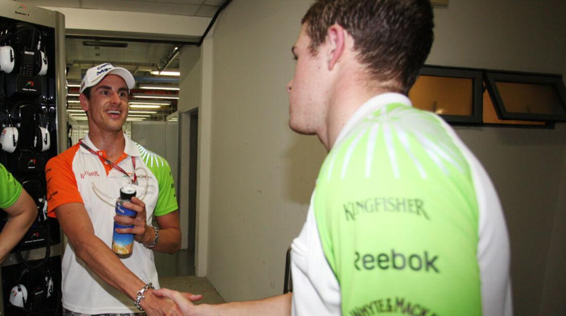 Sutil & Di Resta GP Singapur 2011