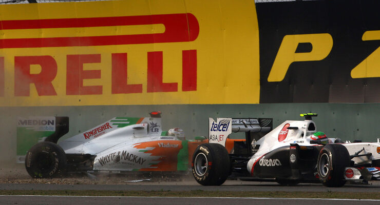 Sutil GP China 2011
