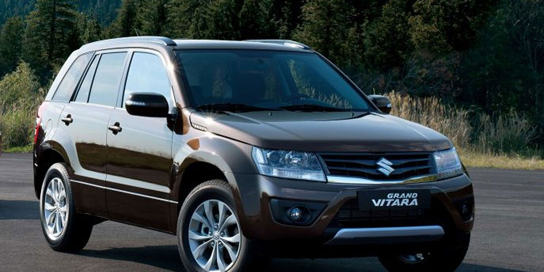 Suzuki Grand Vitara Facelift 2012