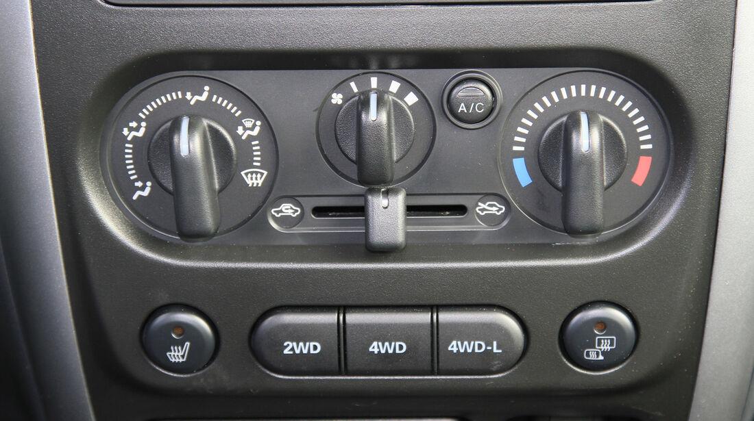 Suzuki Jimny, Bedienelemente