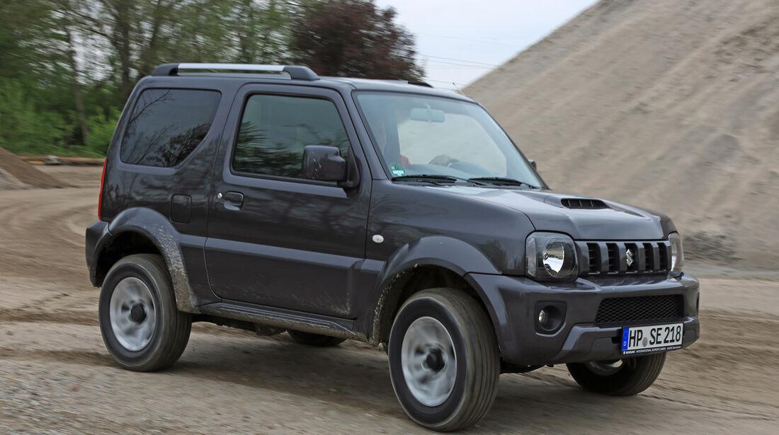 Suzuki Jimny, Frontansicht