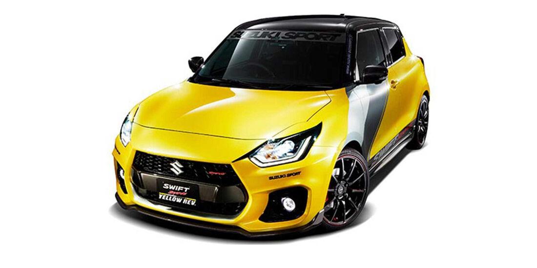 Suzuki Jimny Pickup Swift Sport Concept Tokio Motor Show 2019