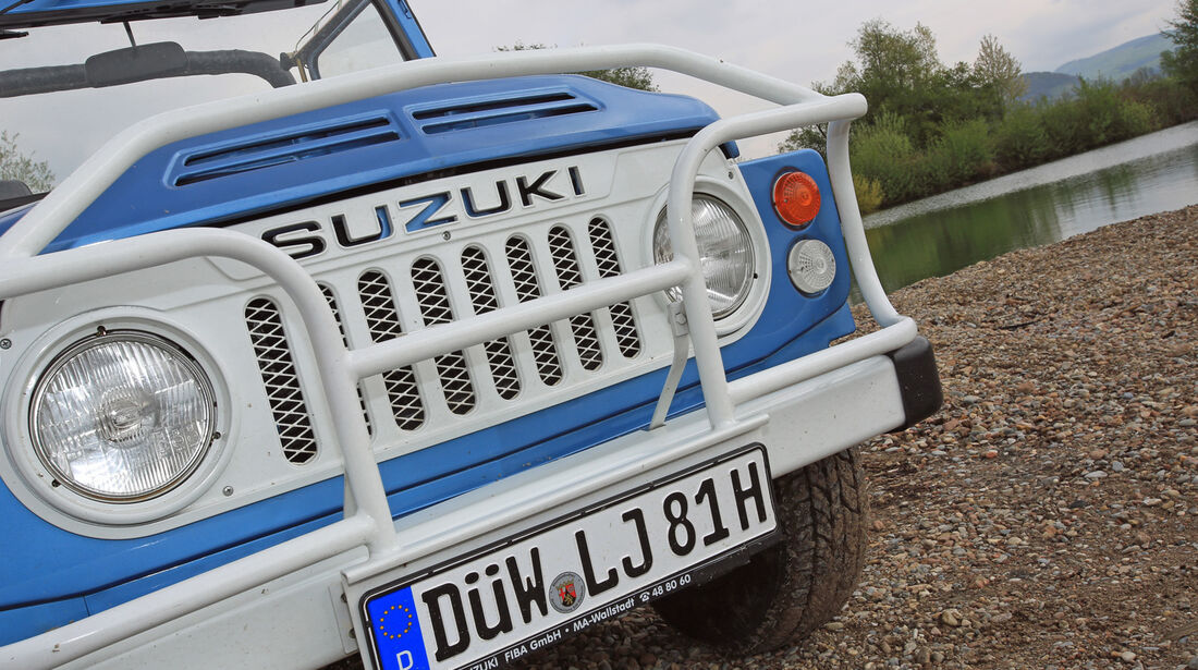 Suzuki LJ80, Kühlergrill