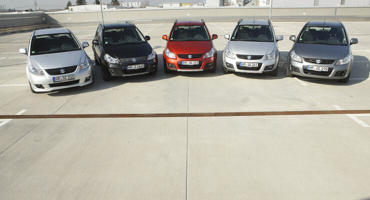 Suzuki SX 4, Gruppenbild 2